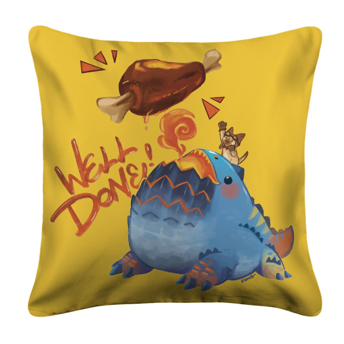 Dodogama Well Done! Pillow Case