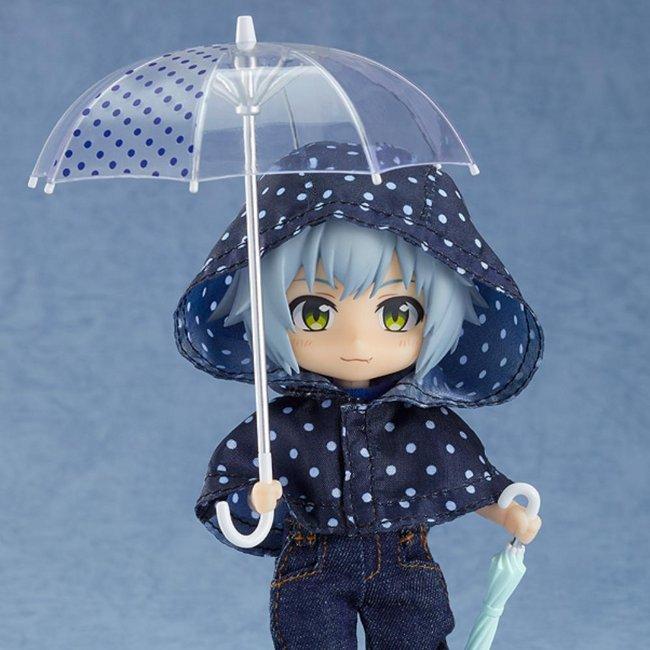 Nendoroid Doll: Outfit Set (Rain Poncho - Polka Dots)