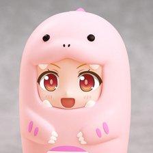Nendoroid More: Face Parts Case (Pink Dinosaur)