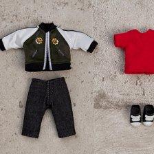 Nendoroid Doll: Outfit Set (Souvenir Jacket - Black/Blue/Pink)