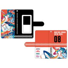 Hatsune Miku GT Project 100th Race Commemorative Art Project Art Omnibus Flip Cover Smartphone Case